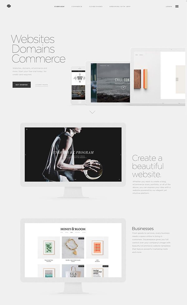 Build a Website – Squarespace
