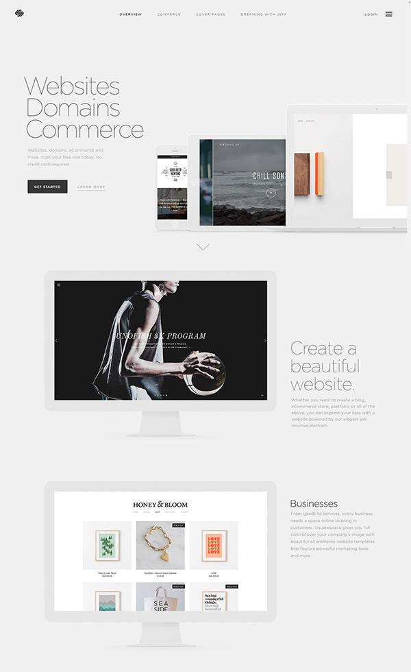Build a Website – Squarespace