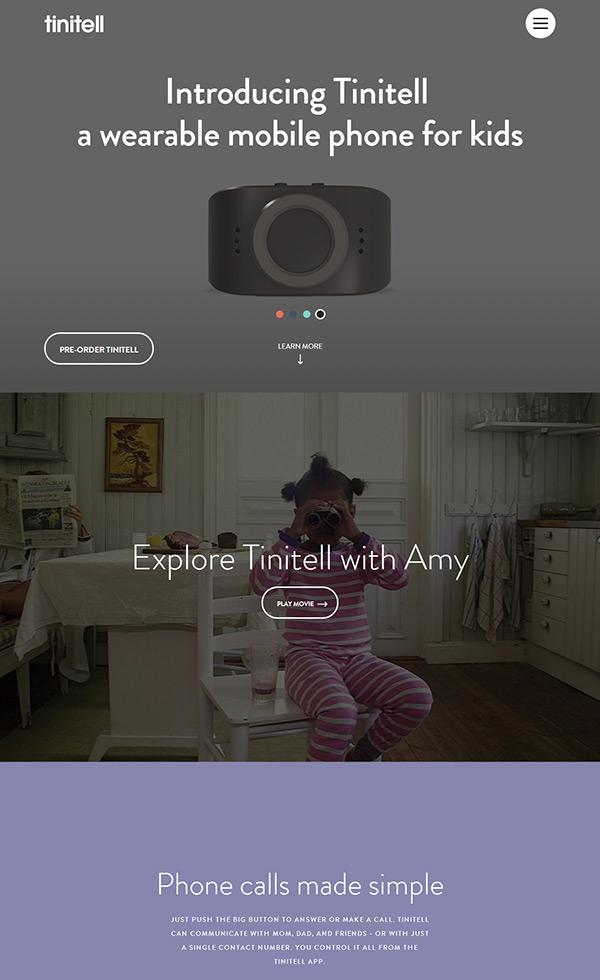 Tinitell – Wristphone for Kids