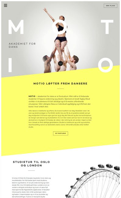 MOTIO – Akademiet for dans