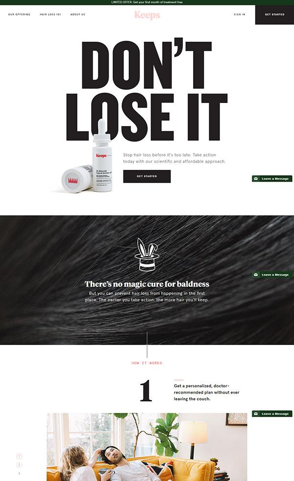 Keeps – Keep Your Hair