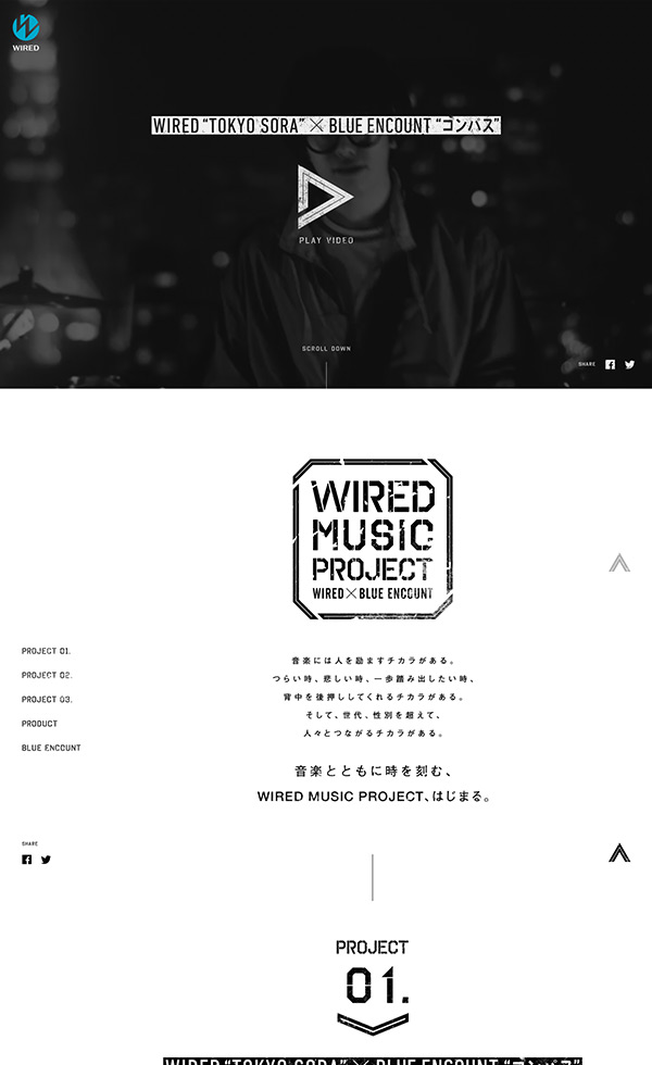 WIRED MUSIC PROJECT