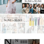 NiNE Styling CareのLPデザイン
