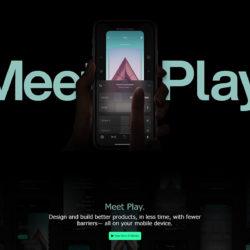PlayのLPデザイン
