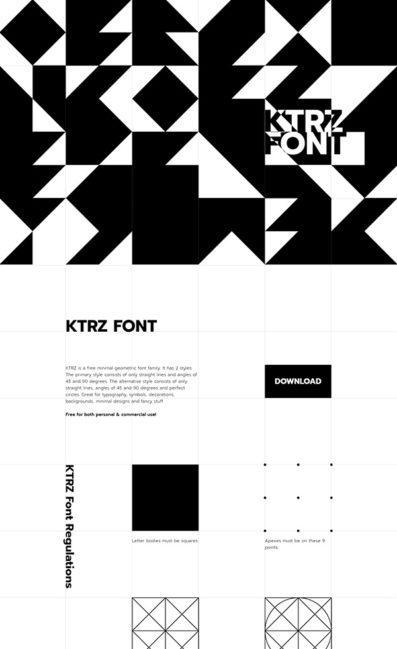 KTRZ Font
